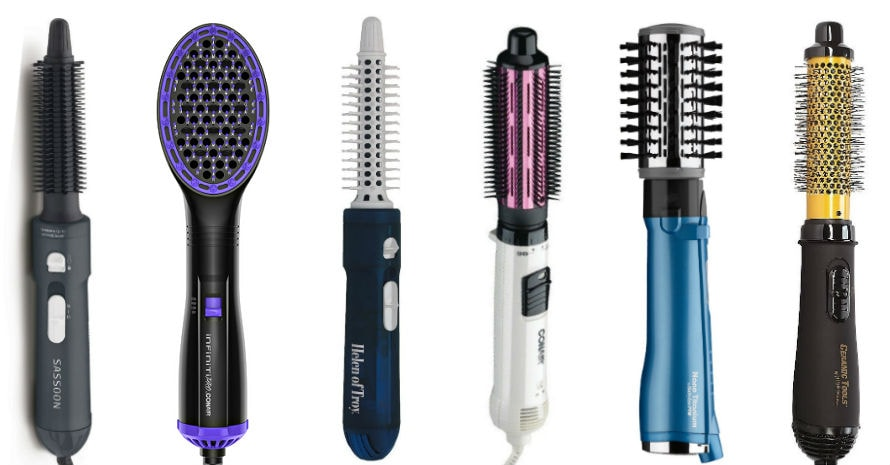 picture of the best rotating hair brushes