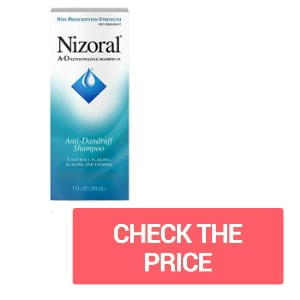 Get rid of dandruff in dreads? Nizoral bets!