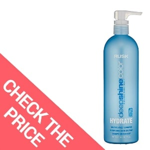 Best Shampoo for Dry Color-Treated Hair – RUSK Deepshine Color Hydrate Sulfate-Free Shampoo