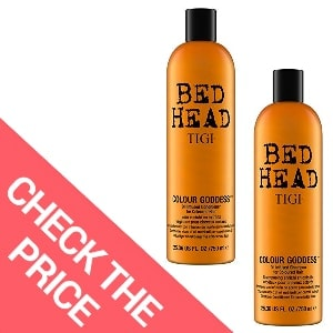 Best Shampoo for Damaged Color-Treated Hair – Tigi Bed Head Colour Goddess Shampoo and Conditioner