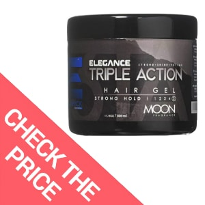 Elegance Triple Action Hair Gel – Best Hair Gel for Men Who Need an Extreme Hold