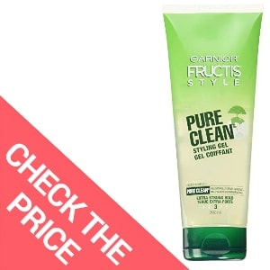 Garnier Fructis Style Pure Clean Styling Gel – Best Natural Hair Gel for Men
