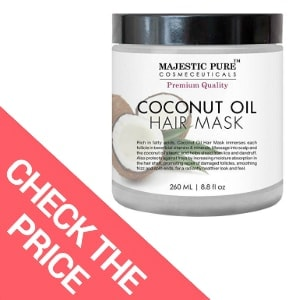 Best Coconut Oil Hair Mask – Majestic Pure Coconut Oil Hair Mask