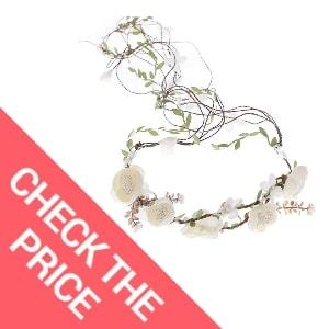 Newly arrived Rattan Flower Vine Crown Tiaras Necklace Belt Party Decoration