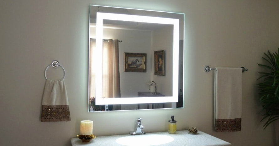 How to Make LED Lighted Makeup Mirror Yourself