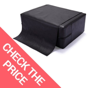 JAXPETY Black Barber Beauty Salon Spa Equipment Styling Chair Child Booster Seat Cushion
