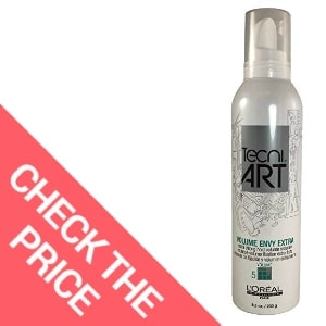 Tecni Art - Envy Extra Strong Hold Volume Styling Mousse for Grey Hair