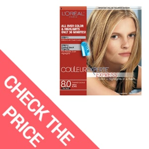 L'Oreal Paris Couleur Experte Color + Highlights in a Flash, Medium Blonde – Incredible Hair Dye Loreal for Gray Coverage