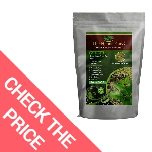 The Henna Guys 100% Pure and Natural Henna Powder for Hair Dye – Effective Hair Dye That Covers Gray Hair