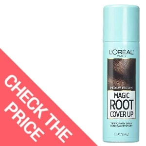 L'Oreal Paris Hair Color Root Cover Up Temporary Gray Concealer Spray — Best Root Cover up for Gray Hair
