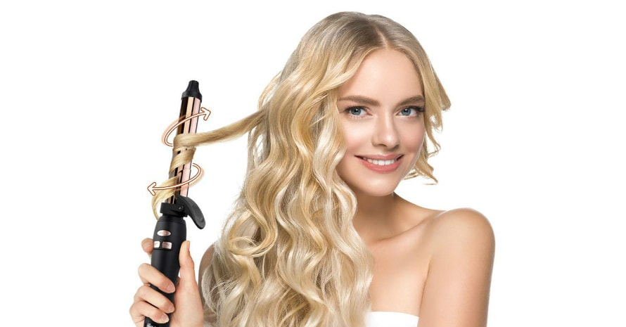 best rotating curling iron featured image